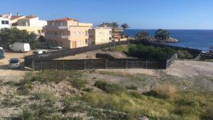 Baria Villaricos La parcela objeto de la discordia está situada frente a la playa de Cala Siret.