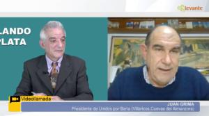Entrevista a Juan Grima, Presidente de Unidos por Baria en Levante TV sobre la aprobación de la PNL
