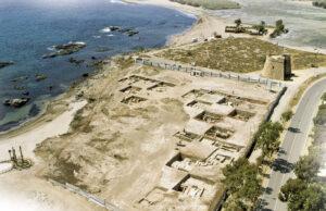 Panorámica de Baria (Villaricos) en los años 2000, antes del desarrollo urbanístico actual
