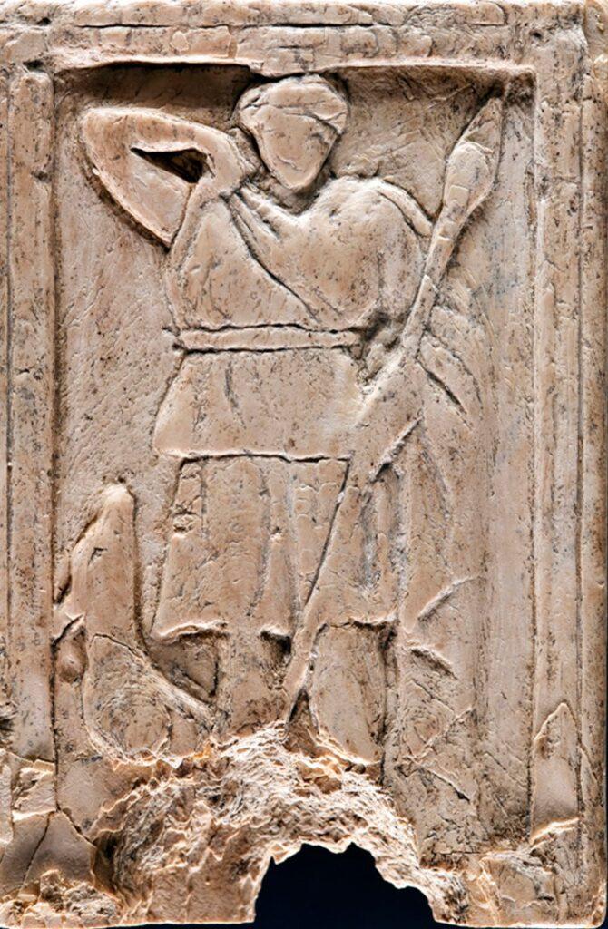 Diosa Diana (atlética, bella, cazadora) encontrada en Baria