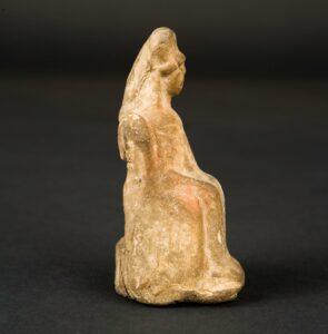 Deidad femenina (escultura de terracota)